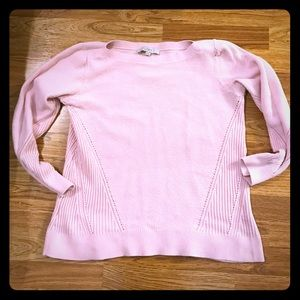 Pink Ann Taylor Cozy Sweater